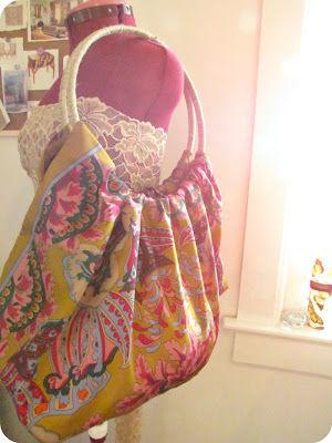 Как сшить модную летнюю сумку