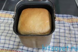 рецепт домашнего хлеба в хлебопечке