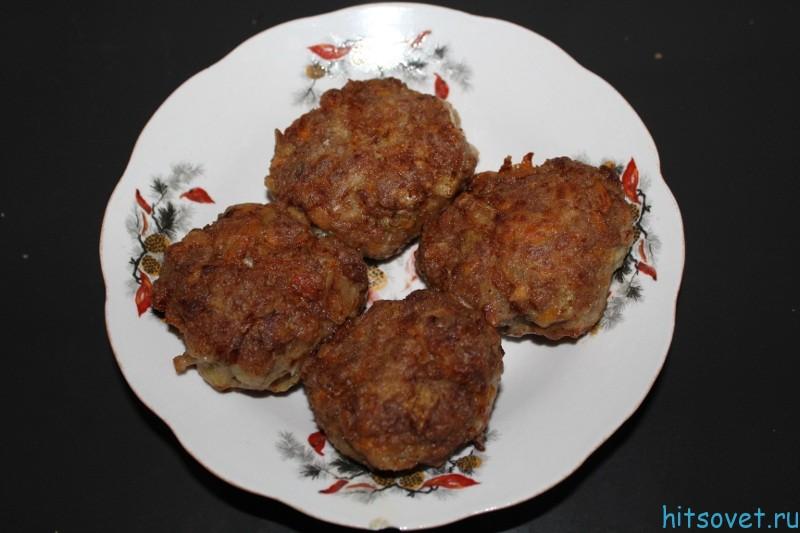Котлеты мясные рецепт