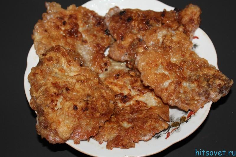 Отбивные со свинины рецепт