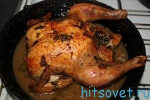 Запеченная курица рецепт