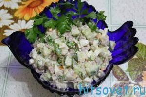 Салат оливье рецепт