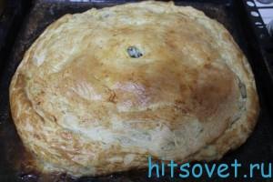 Пирог с мясом рецепт