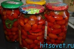 Засолка помидор помидоры Черри