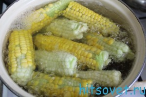 как варить кукурузу