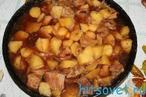 свинина в уксусе рецепт