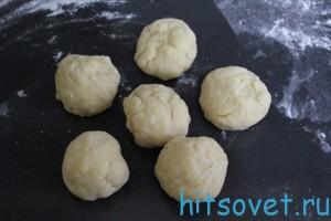 разделить тесто для лазаньи