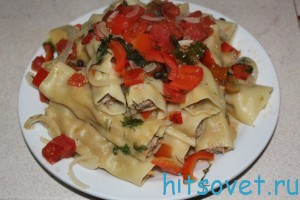 фаршированные Cannelloni