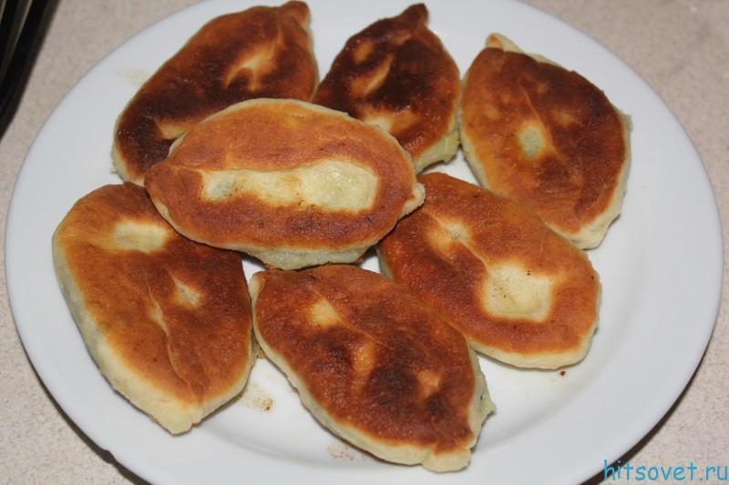 Пирожки с картошкой и блитвой