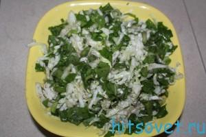 салат с блитвой