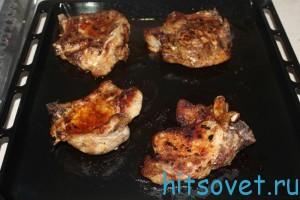 стейк из свинины рецепт
