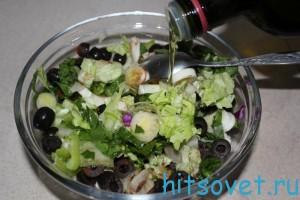 рецепт салата из краснокочанной капусты