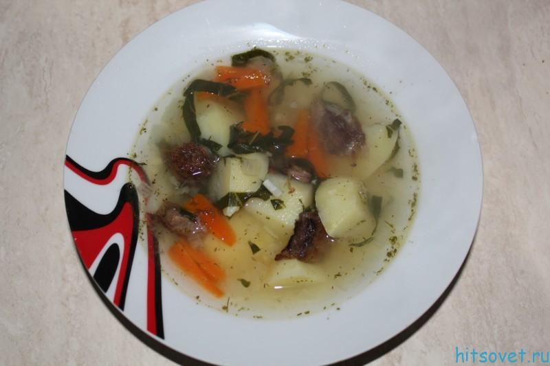 Суп с имбирем