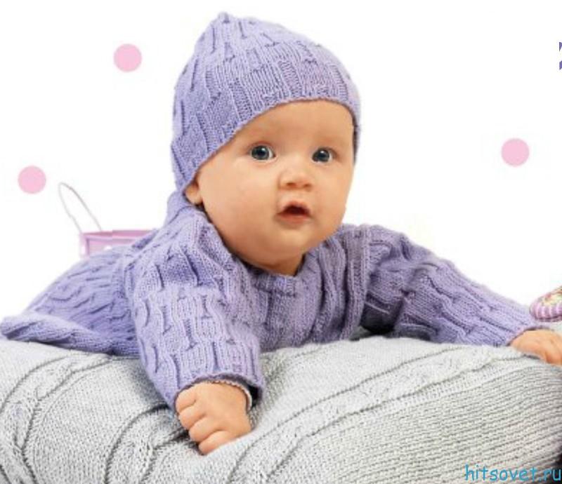 вязание пуловеров для детей