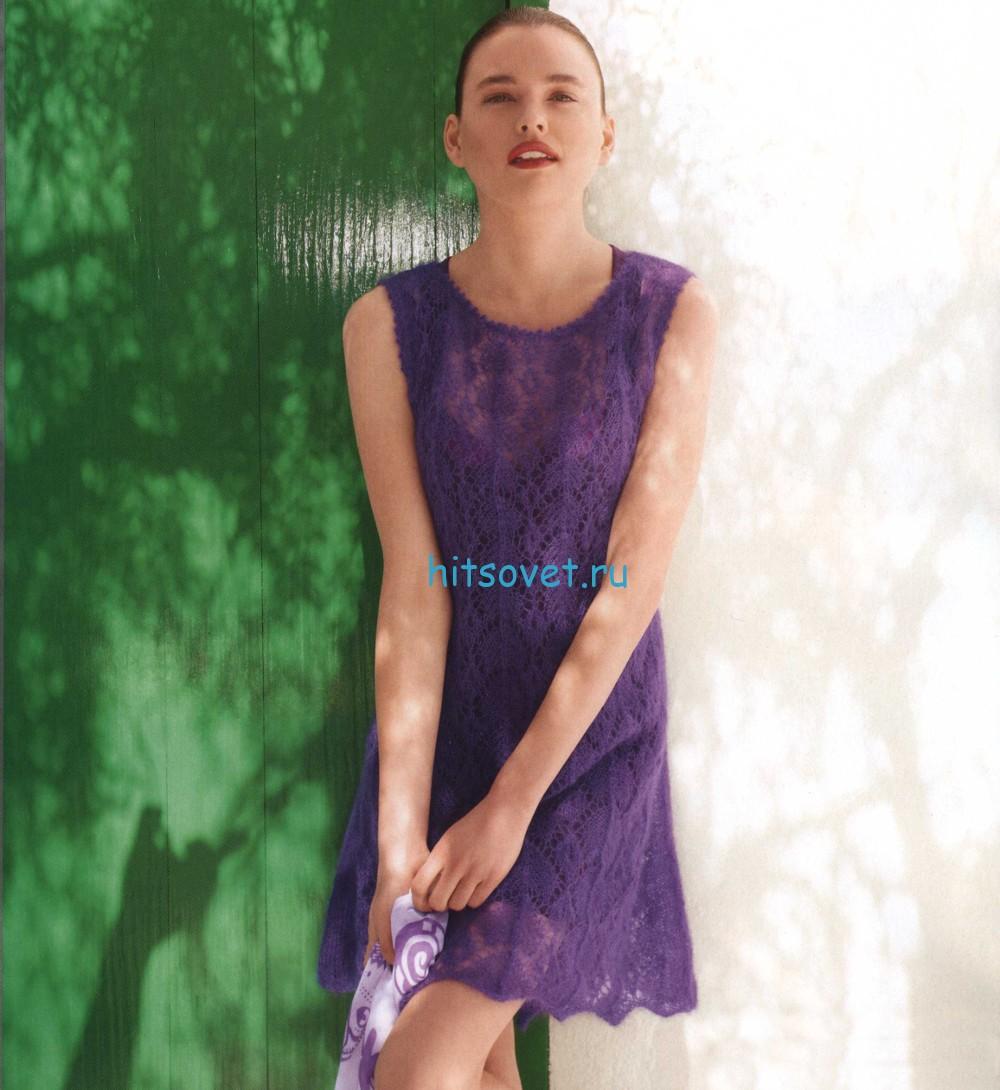 Вязание платья