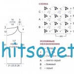 Схема вязания топа и шляпа крючком схема
