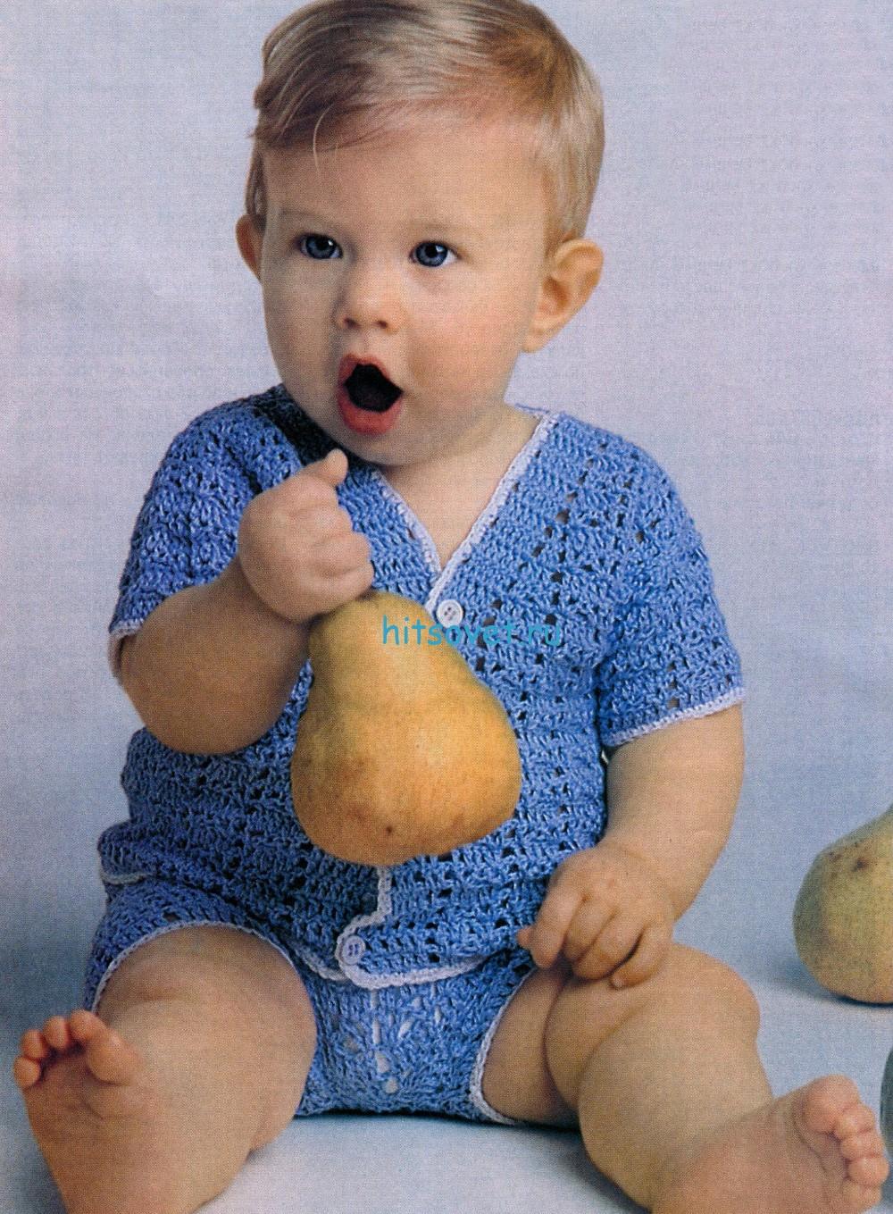 Вязание для малышей комплект