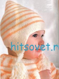 Вязание для малышей - шапочка