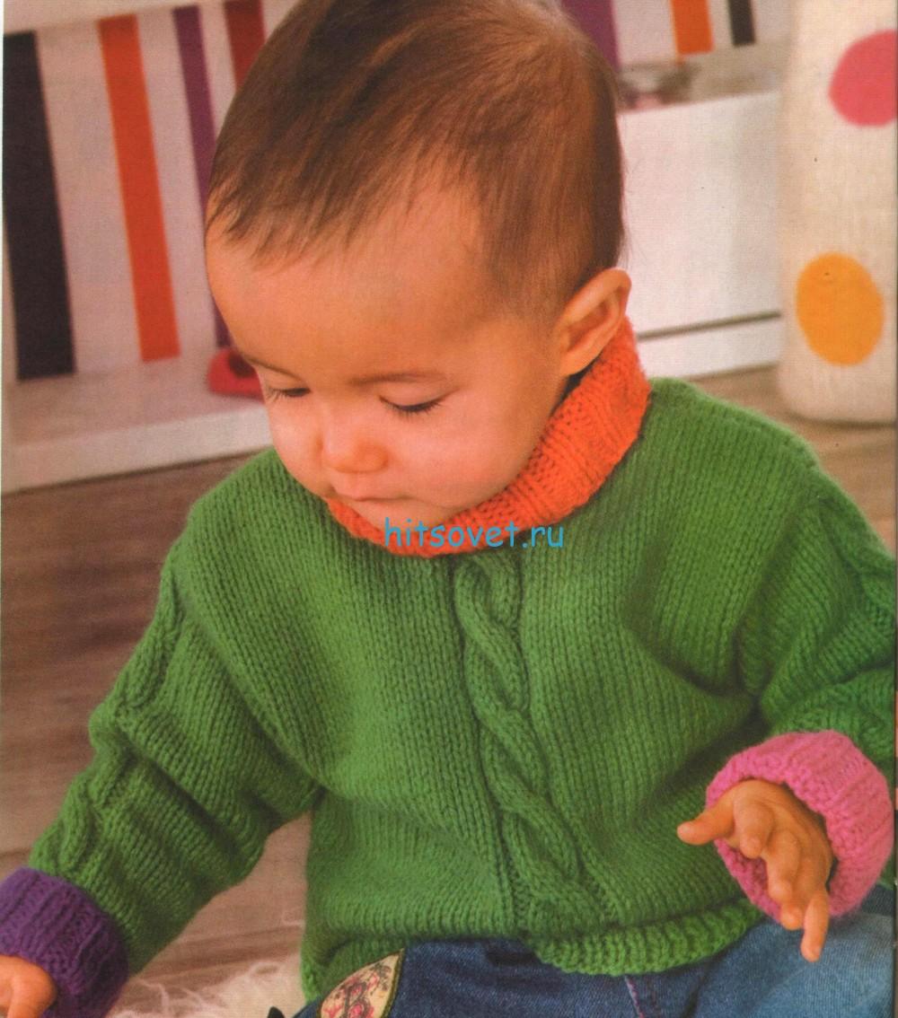 Вязание для малышей – свитер