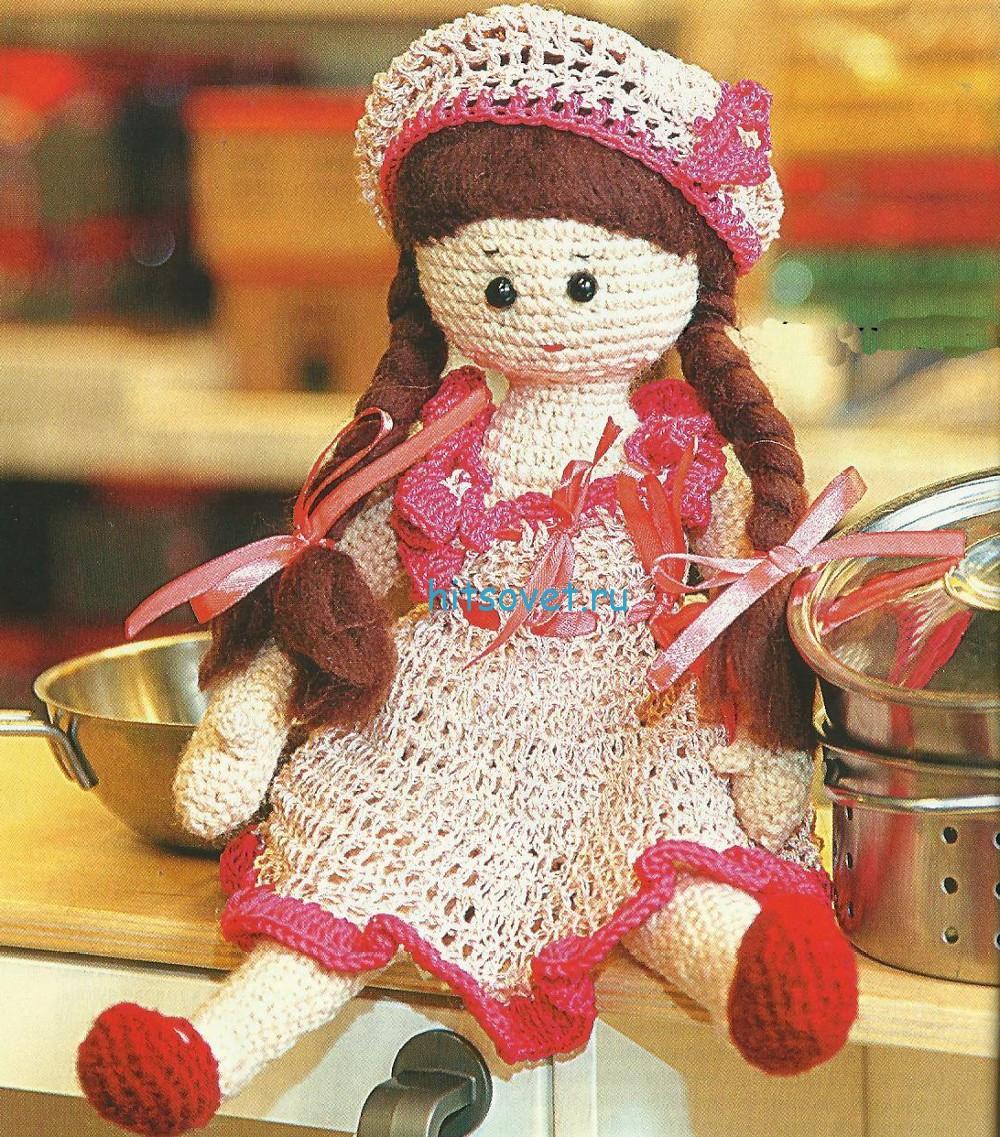 Вязаная кукла описание
