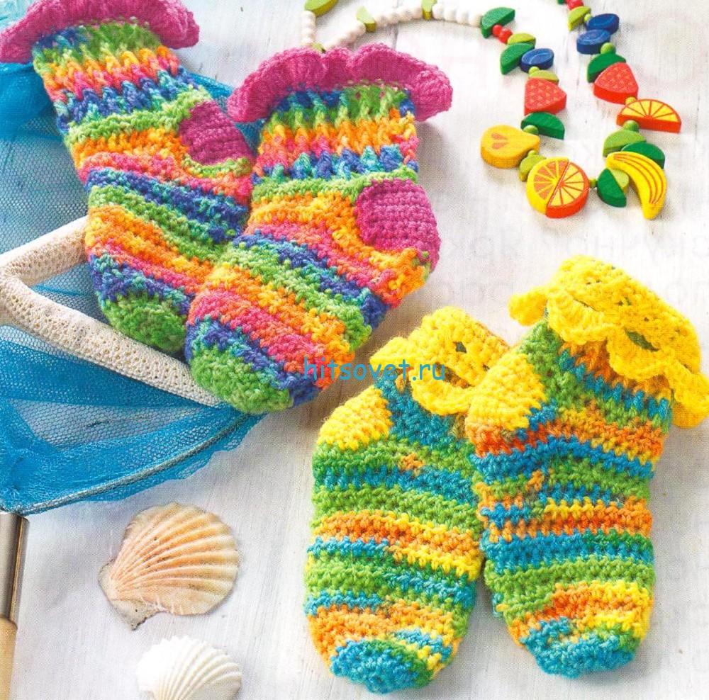 Детские вязаные платья спицами для девочек от 3 до 5 лет - 5c210