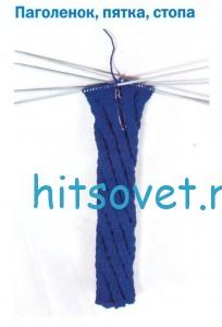 Вязание носков по спирали. Мастер класс, фото 2.