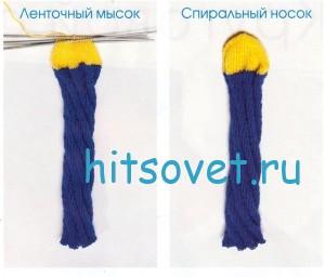 Вязание носков по спирали. Мастер класс, фото 3.