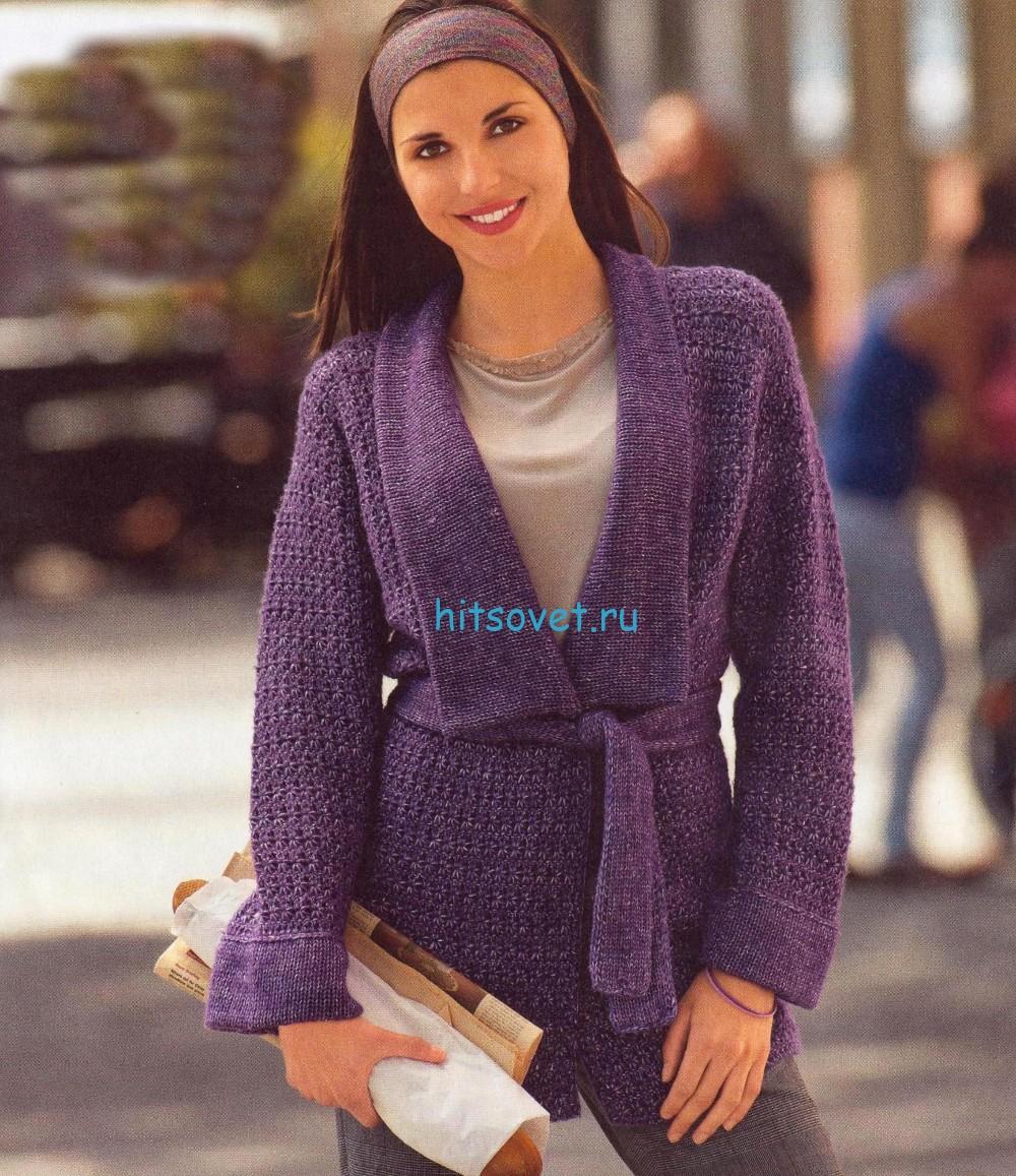 Вязаные пуловеры/жакеты Записи в рубрике Вязаные 22