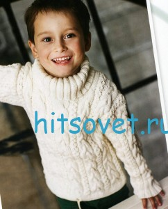 Вязание для мальчиков свитера, фото 2.