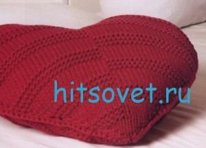 Вязание сердце 2