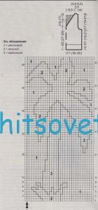 Схема вязания для мальчика жилета