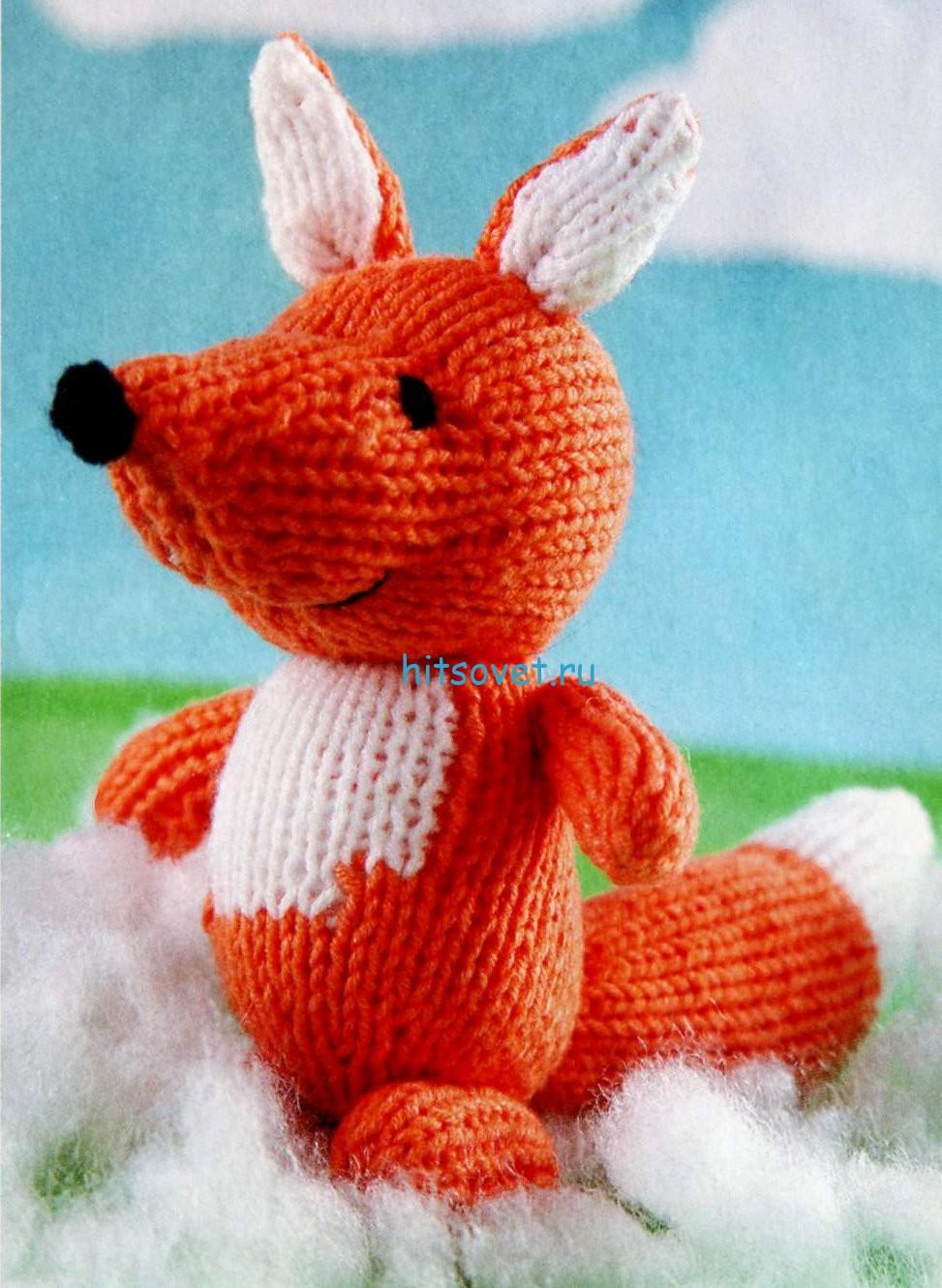 Вязание мягких игрушек спицами со схемами и описанием: мастер класс, фото