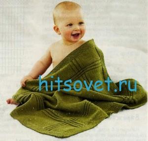 Вязание для малышей пледа