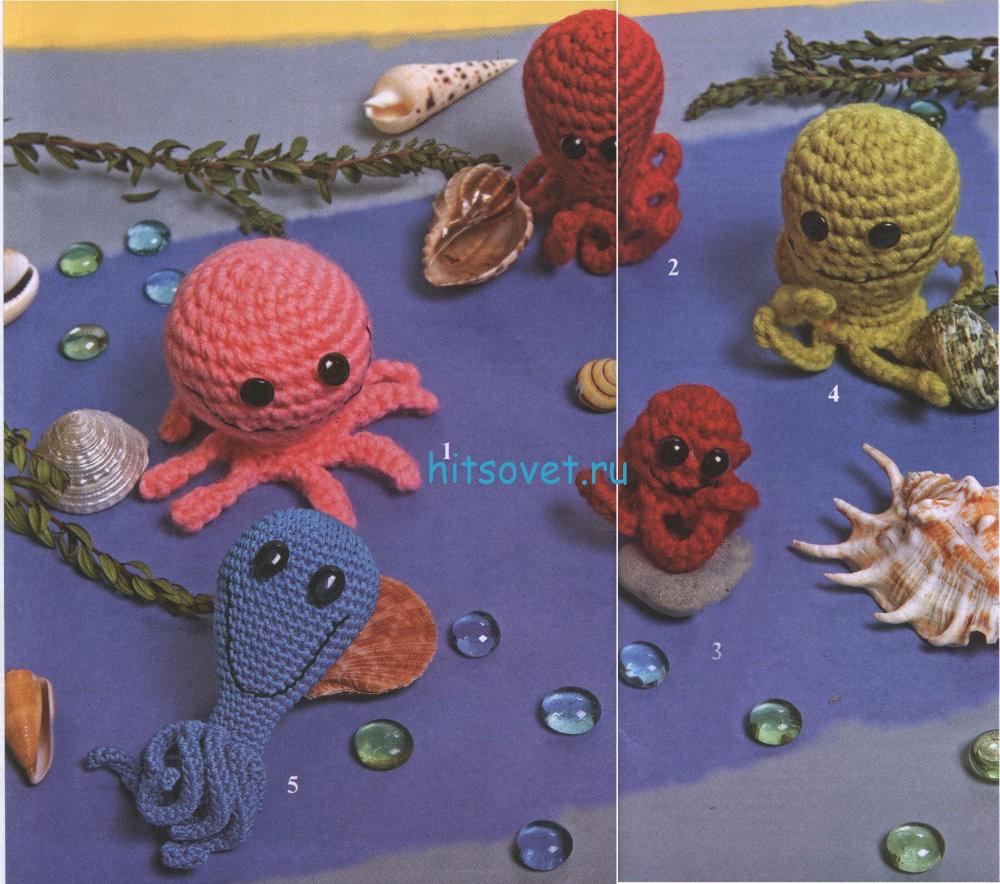 Вязаные осьминоги
