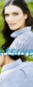 Вязание пуловера с рукавами реглан, фото 2.