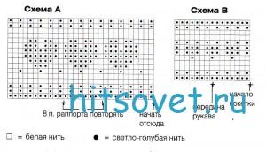 Схема жакета для девочки спицами с описанием