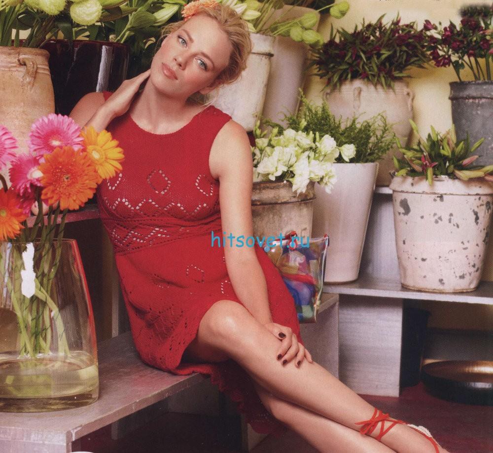 Вязание летнего платья, фото.
