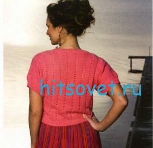 Вязание болеро спицами описание, фото 2.
