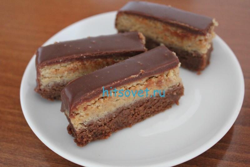Постное пирожное Баядера