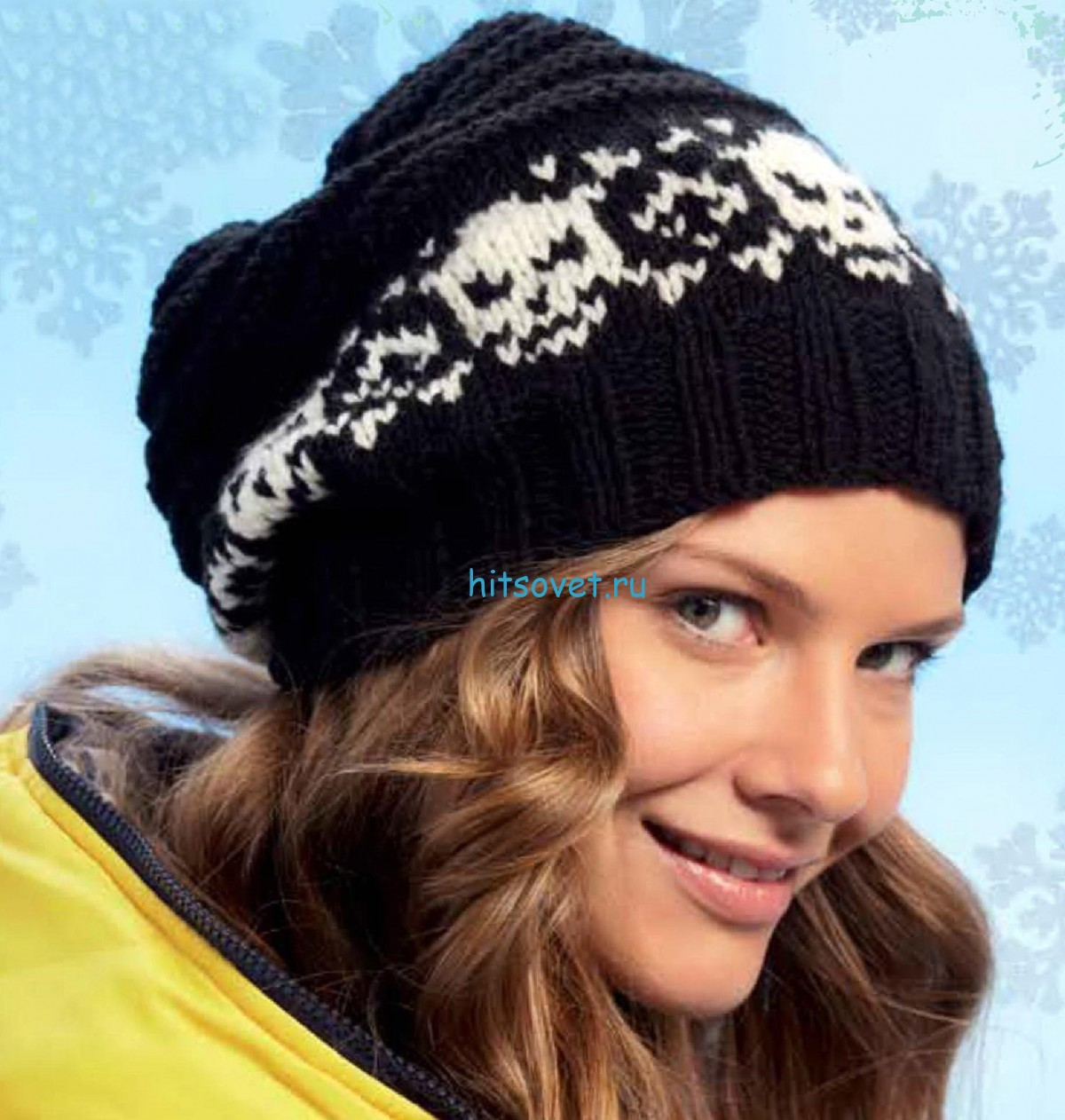Вязание шапки бини хэллоуин, фото.