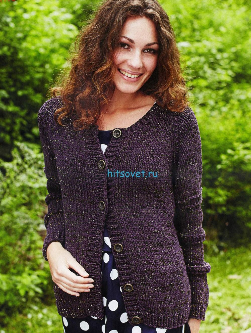 Вязаный жакет, жакет без пуговиц, вязание, вязание для женщин 18