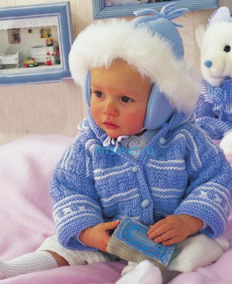 вязание для малышей жакет