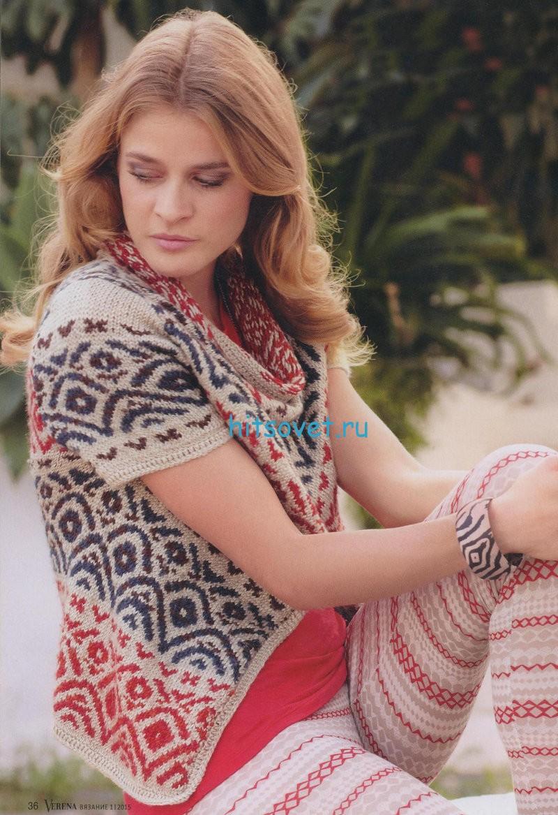 Вязание платья 48