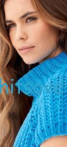 Пуловер реглан английской резинкой, фото 2.