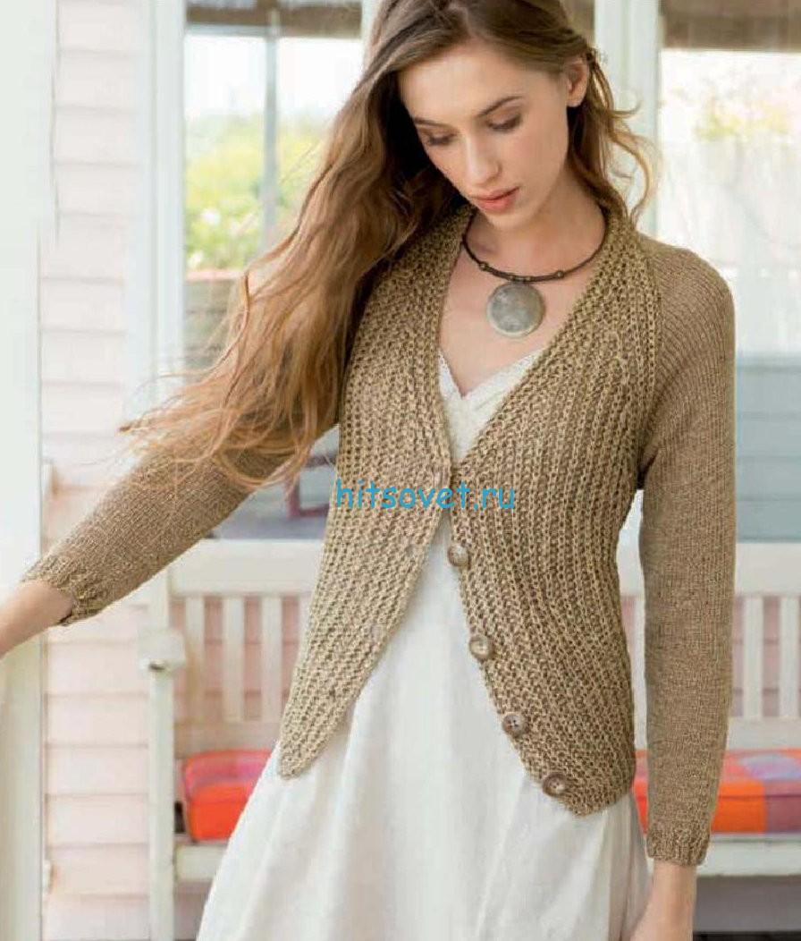 Вяжем свитер женский 2015 2016 со схемами фото 848