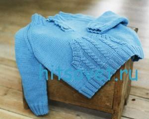 вязание пуловера для мальчика