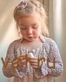 Вязание для девочки ажурного болеро