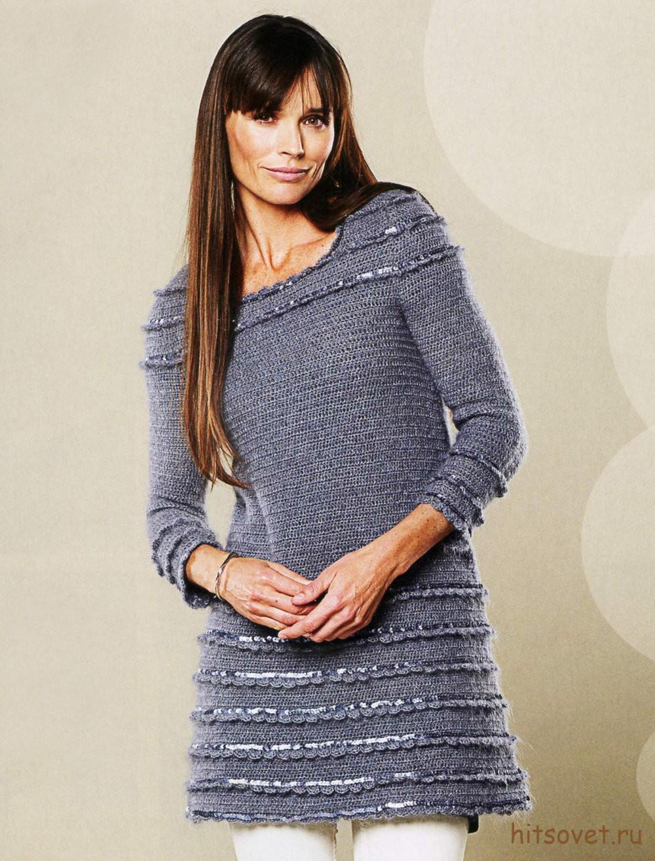 Вязание спицами-платье,туника,юбка | Записи в рубрике Вязание