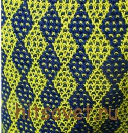 Женский пуловер с узором арлекин, узор.