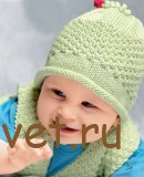 Вязание для малышей шапочки из хлопка